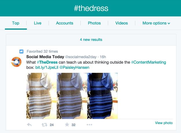 the-dress-twitter-trending
