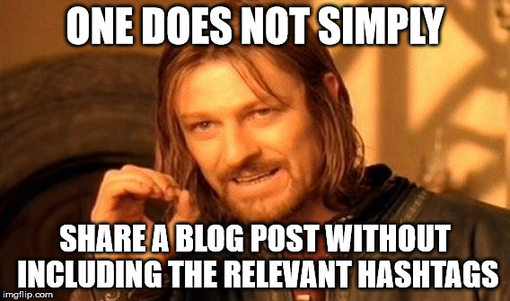 dont-share-blog-post-without-relevant-hashtags