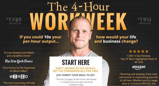 4-hour-workweek-landing-page