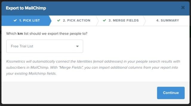export-to-mailchimp-step-1