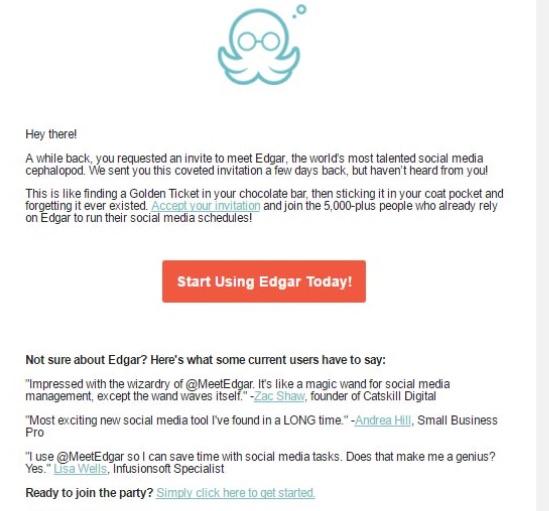meetedgar drip email
