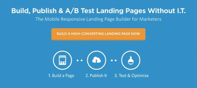 unbounce homepage 2017