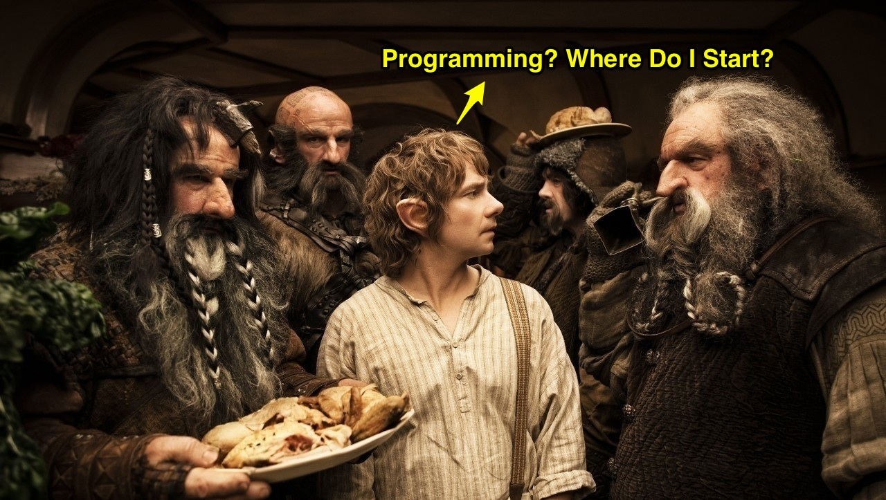 teach programming like the hobbit