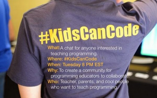 Join us for KidsCanCode every Tuesday