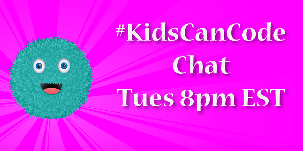 Join Us for #KidsCanCode Chat