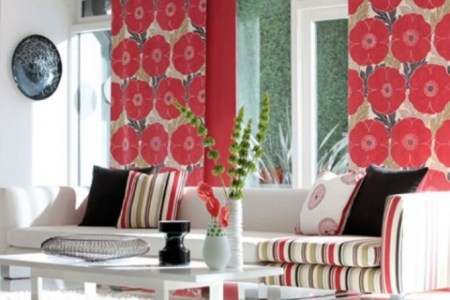 home decorating ideas with fabrics