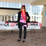 Nicole at the STEP OUT Walk to Stop Diabetes