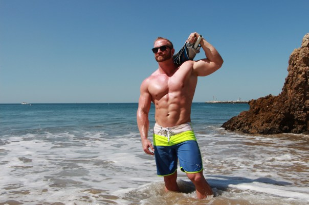 Beach Bicep workouts COVER photo