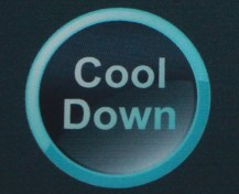 cool down button