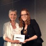 Gagnante du iPad-mini: Madame Céline Belec