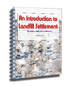 Introduction to Landfill Settlement ebook - available for purchase