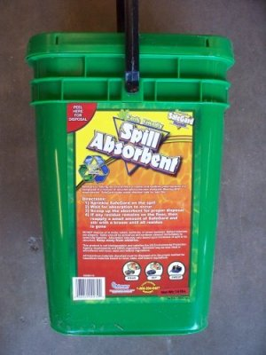 SafeGard Spill Absorbent for oil and waste disposal