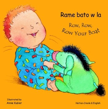 Row Row Row Your Boat bilingual children's book