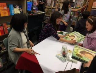 Photo from the launch party of Juna's Jar
