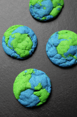 Earth Day Cookies from Tammilee Tips