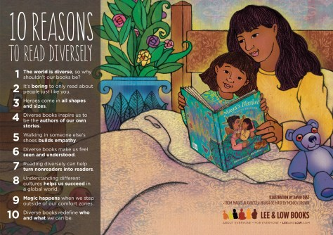 10 reasons to read diversely