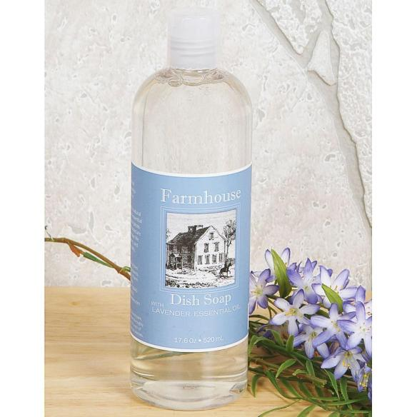 Plant-based cleansers power through grease and grime with this aromatic, concentrated dish soap. At Lehmans.com.