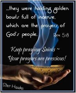 Prayers as Incense