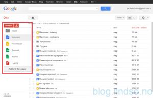 google drive opprett