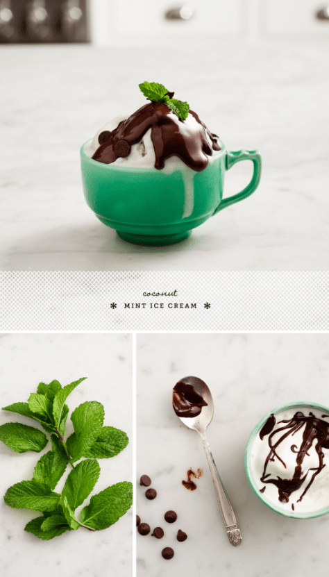 5 Summer Desserts That Will Change Your Life - Coconut Mint Ice Cream
