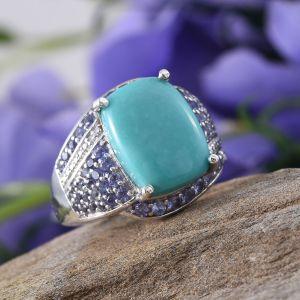Rare and Exotic Gemstones - Sonoran Blue Turquoise - ring