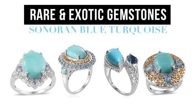 Rare and Exotic Gemstones: Sonoran Blue Turquoise