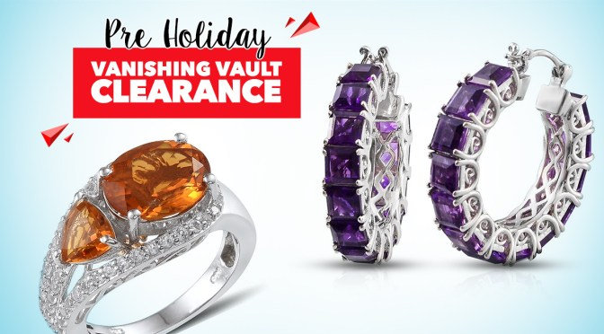 Pre Holiday Vanishing Vault Clearance Preview