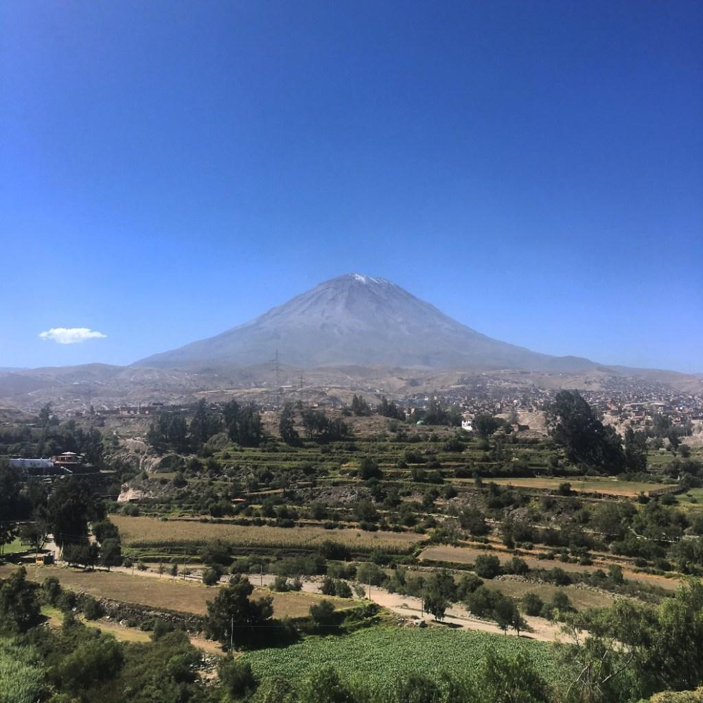 arequipa vulcano