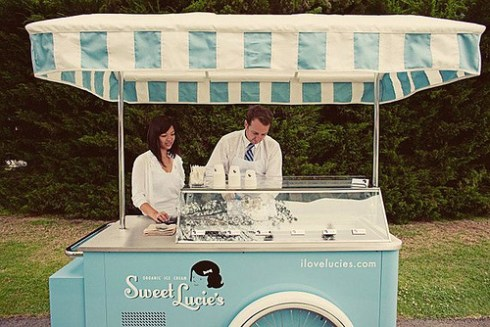 Wedding Wednesday We All Scream For Ice Cream London