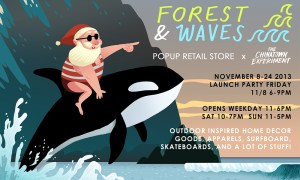 things to do :: forest and waves pop-up