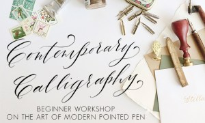 New Workshop with Maurelle Calligraphy