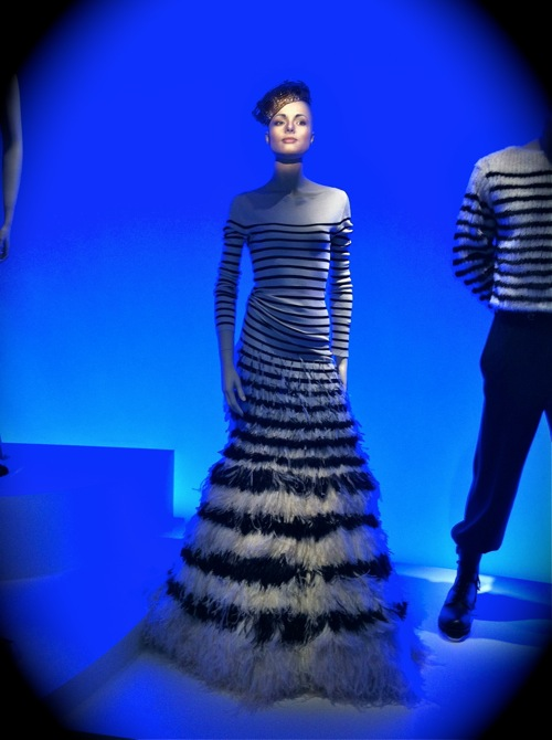 Animated Mannequin at Jean Paul Gaultier's exhibit at the de Young in San Francisco, CA