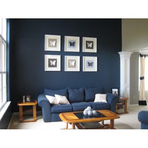 Medium Crop Of Blue Grey Paint