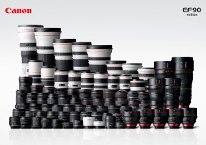 Canon EF Lineup 2013