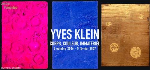 Yves Klein - Corps, Couleurs, Immatériel