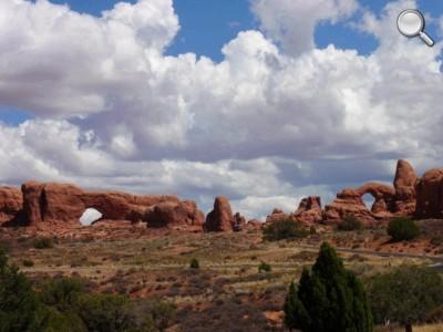 Arches National Park - Arches du jardin d'Eden