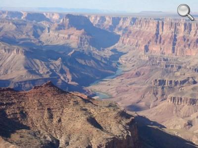 Grand Canyon National Park - Desert View (Zoom sur le Colorado)