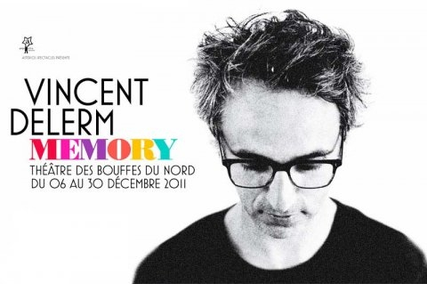 Memory - Vincent Delerm au Théâtre des Bouffes du Nord