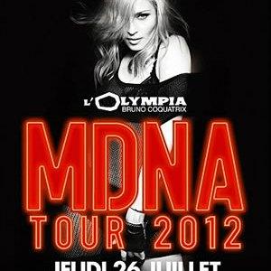 MDNA de Madonna à l'Olympia