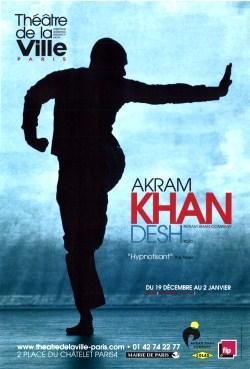 """""""Desh"""" de Akram Khan au Théâtre de la Ville"""