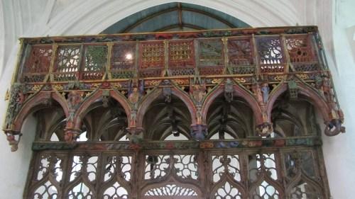Chapelle Saint-Fiacre - Le Faouët - le jubé
