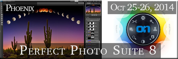 Two days of classroom training in Phoenix, Arizona using onOne Software's Perfect Photo Suite 8.5. Take a crash course in the best and easiest to learn photo software program out there for image enhancement and effects. REGISTRATION IS OPENING SOON!!