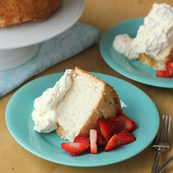 Paleo Mock Angel Food Cake