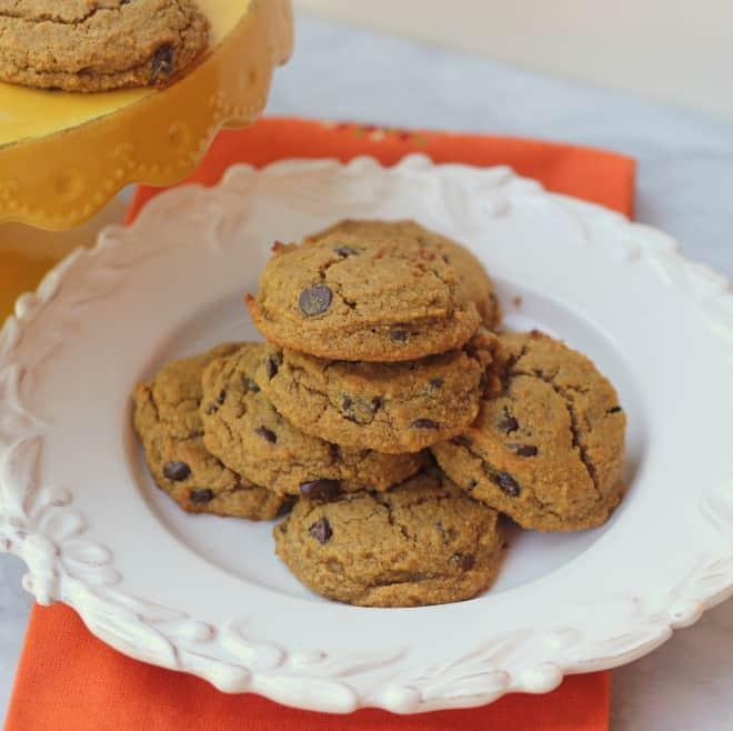 Paleo Pumpkin Chocolate Chip Cookies III