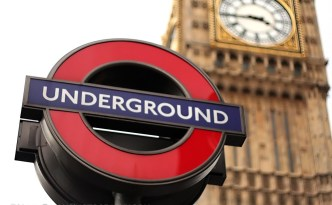 A classic view of the London Underground and Big Ben