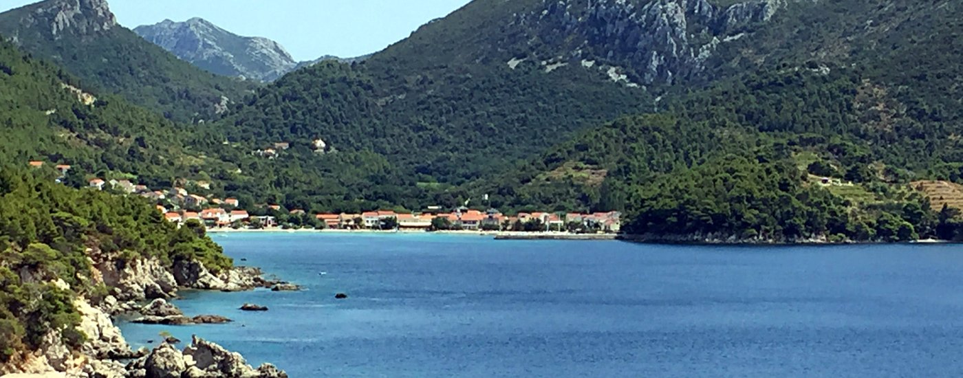 Cycling routes on Peljesac