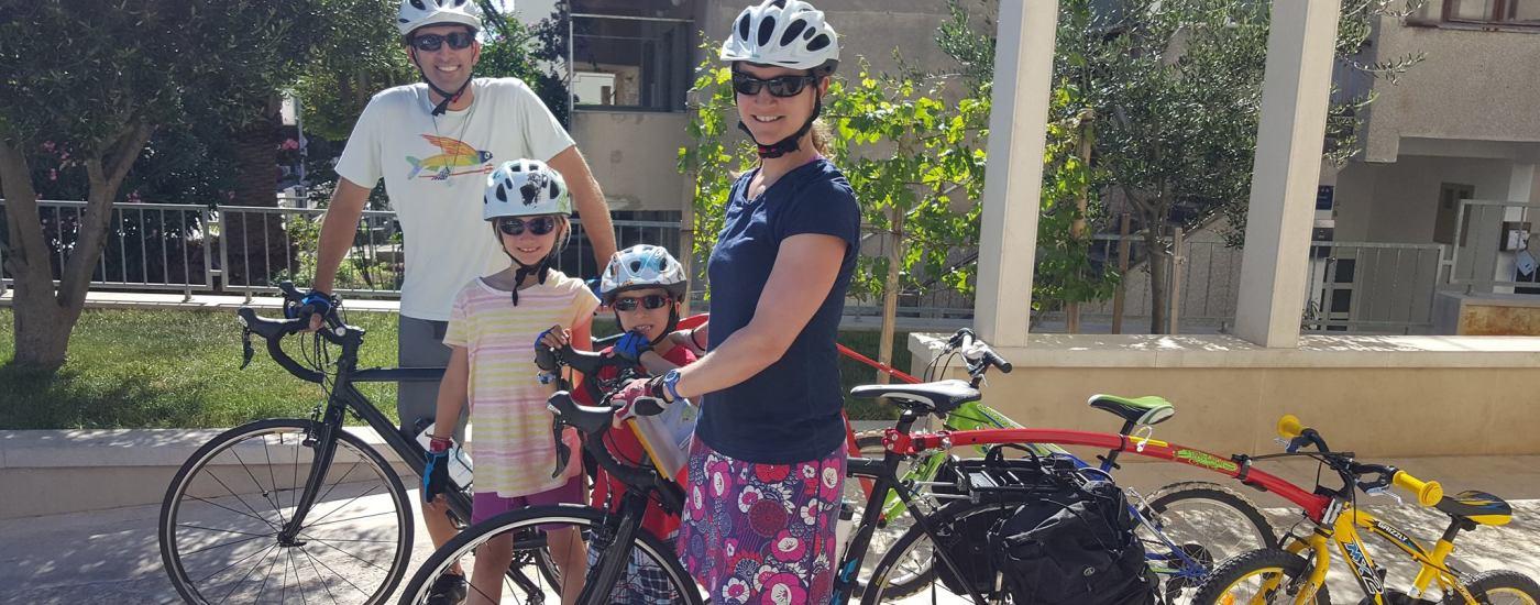 family bike tour
