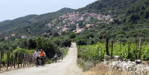 Posip Korcula bike tour