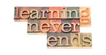 El aprendizaje nunca termina
