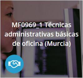 Técnicas administrativas básicas de oficina MF0969_1